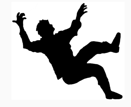 Dream Interpretation Falling Get Help On Solid Ground Silhouette Person Falling Human Silhouette