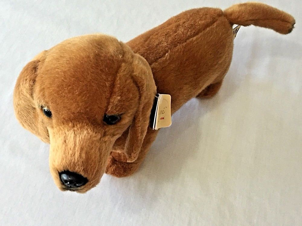 Dachshund Dog Plush Toy Miyoni Aurora Weiner Dog 13 Realistic