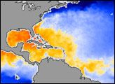 Hurricane-Ready Waters in the Atlantic : Image of the Day : NASA Earth Observatory