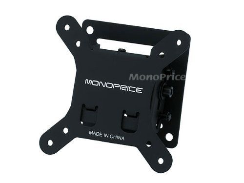 Monoprice Adjustable Tilting Wall Mount Bracket For Lcd Led Plasma Max 30lbs 10 26inch By General Brand 12 85 Low Profile Tilting Lcd Led Tv Wall Mount