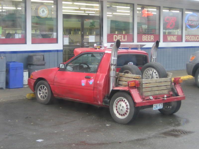 customized Geo Metro into a fun truck runabout. | Garage | Pinterest ...