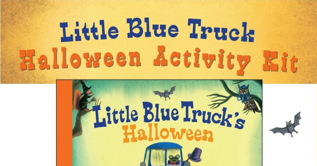 Schertle_Little Blue Truck Halloween.pdf Little blue