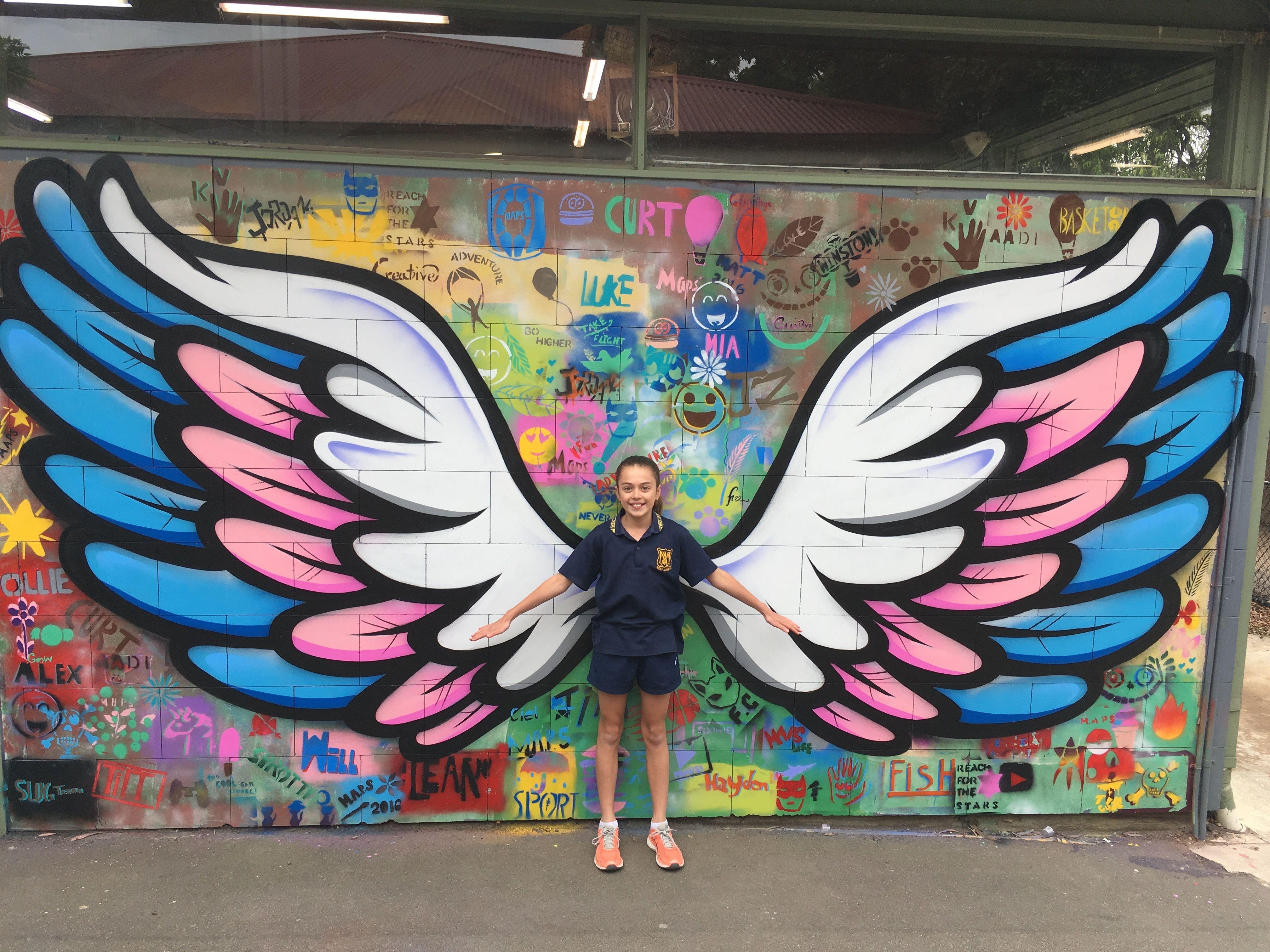 Mont Albert Primary School Mural Blender Creatives Creative Art School Wall Art Murals Street Art Wall Street Art