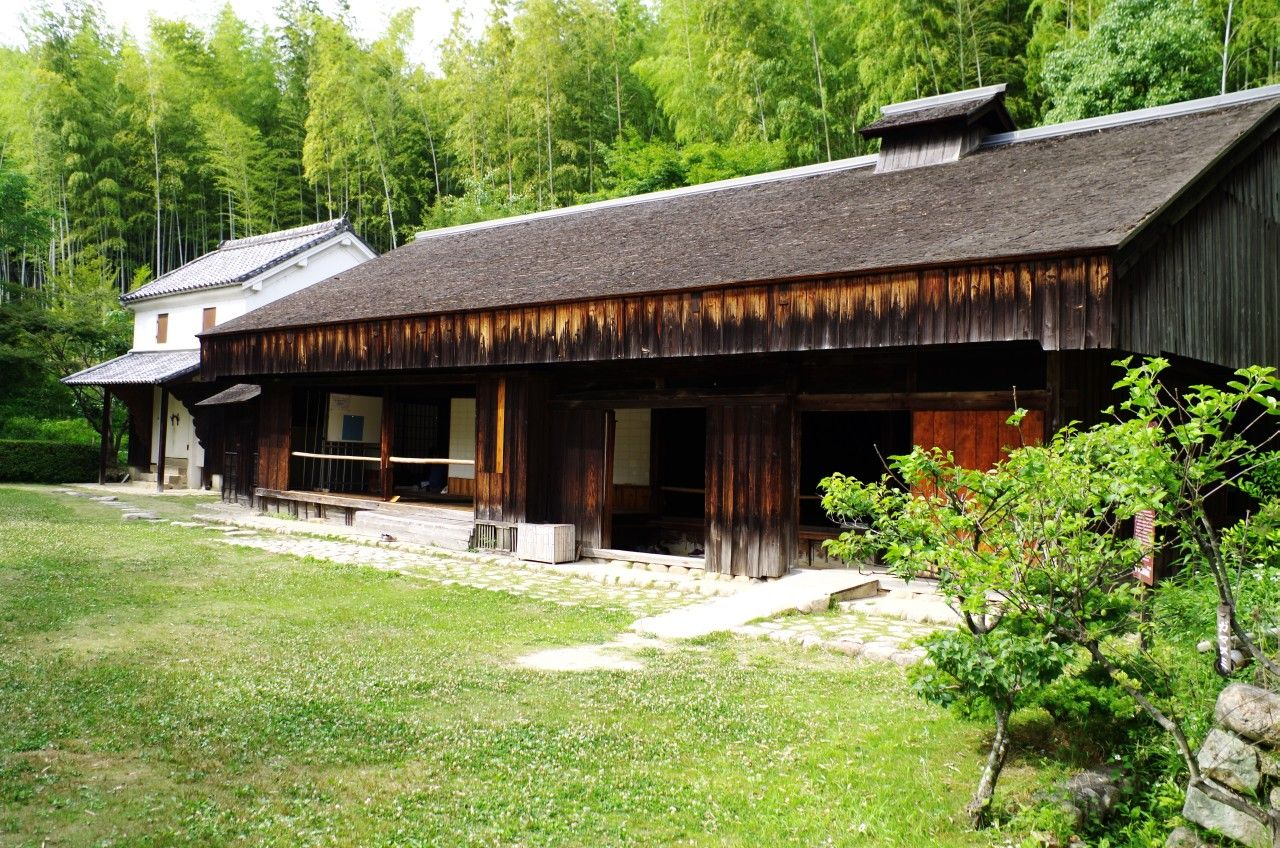 Farm house from Yamato-Totsukawa village, Nara