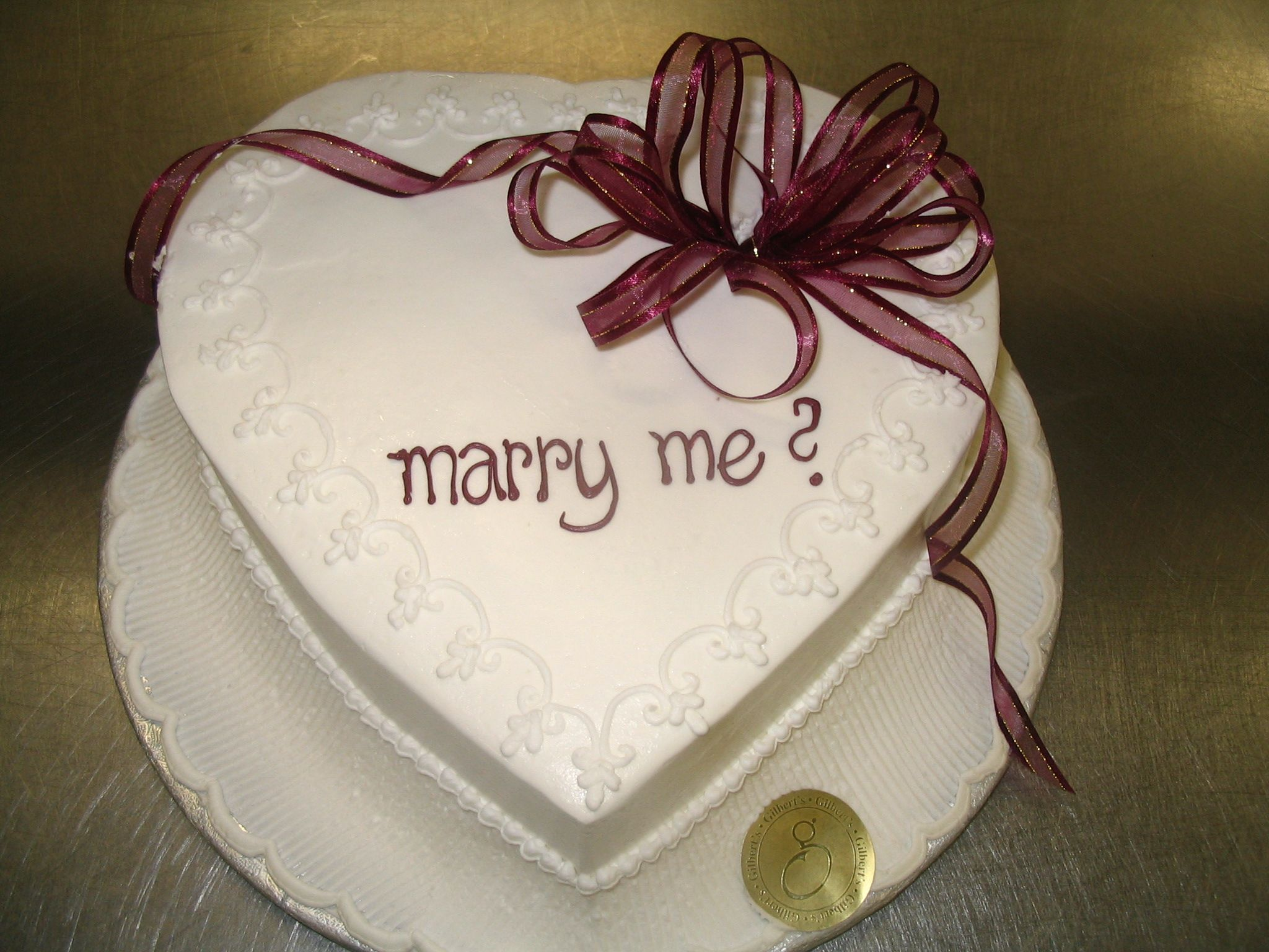 Magnificent Will You Marry Me Proposal Cake Such A Good Idea 9 Cake Mini Personalised Birthday Cards Rectzonderlifede