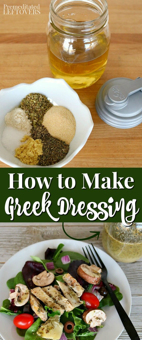 This Homemade Greek Salad Dressing Recipe Has A Bold Authentic Flavor And Can In 2021 Greek Salad Dressing Recipe Greek Salad Dressing Salad Dressing Recipes Homemade [ 1440 x 600 Pixel ]