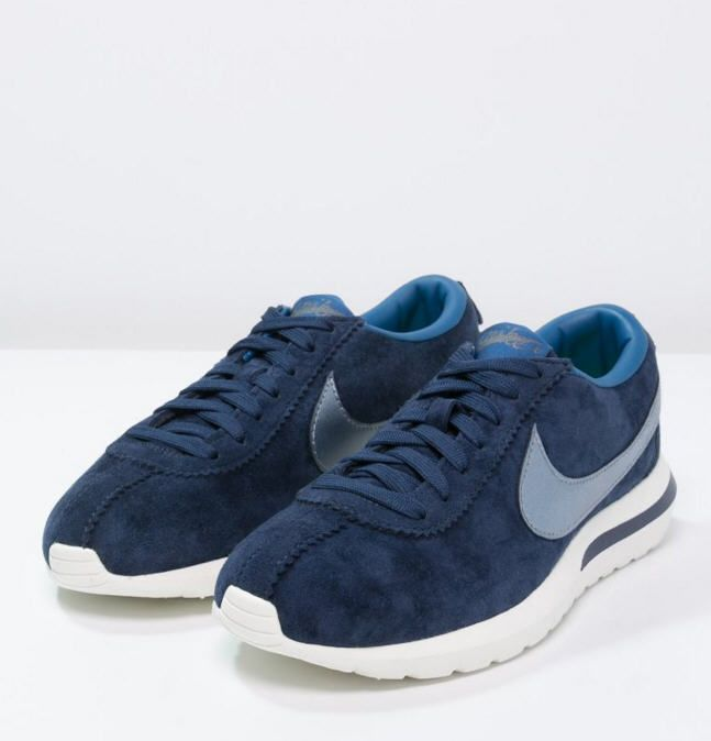 Nike Sportswear ROSHE CORTEZ PREMIUM Baskets basses mid navy/metallic blue desk/crystal blue/sail prix Baskets Femme Zalando 110,00 €