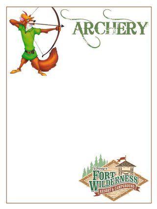 3x4 Fort Wilderness Archery photo 3x4FortWildernessarchery.jpg