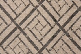 4.6 Yards Diagonal Woven Upholstery Fabric in Iron