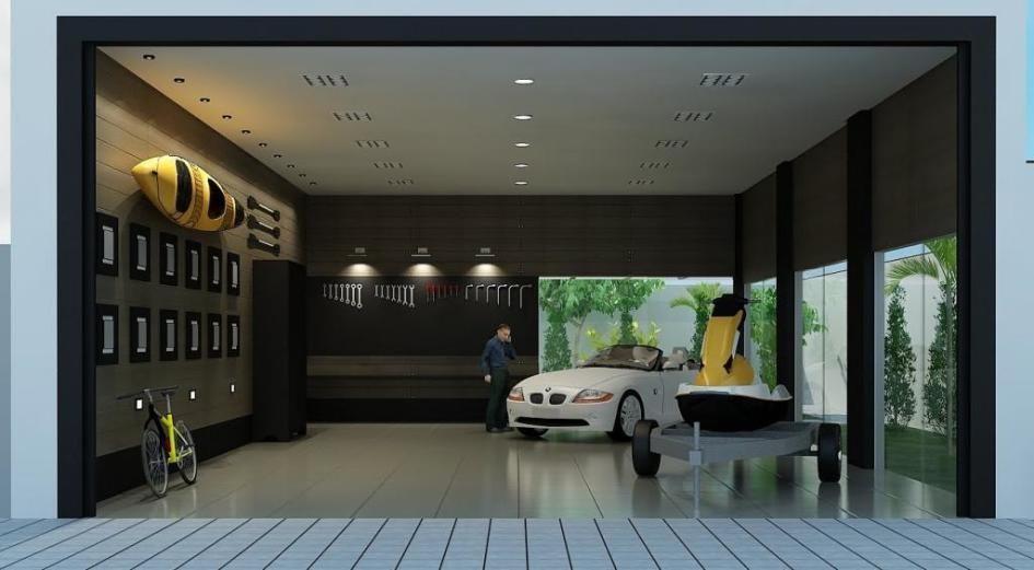 Creative Garage Interior Design For Your Home Luxury Garage Interior Design For Modern Home Design Garage Design Interior Garage Interior Modern House Design