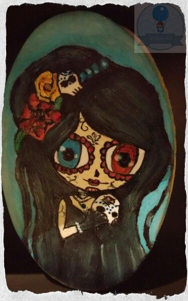 #Catrina #diademuertos #galleta #dulce