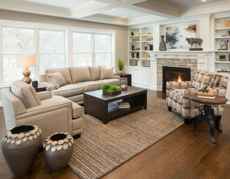 Design Dilemma Mixing Wood Finishes In A Room Schneiderman S The Blog Design And Decorating Home Family Living Rooms Living Room Color Schemes Different wood colors living room