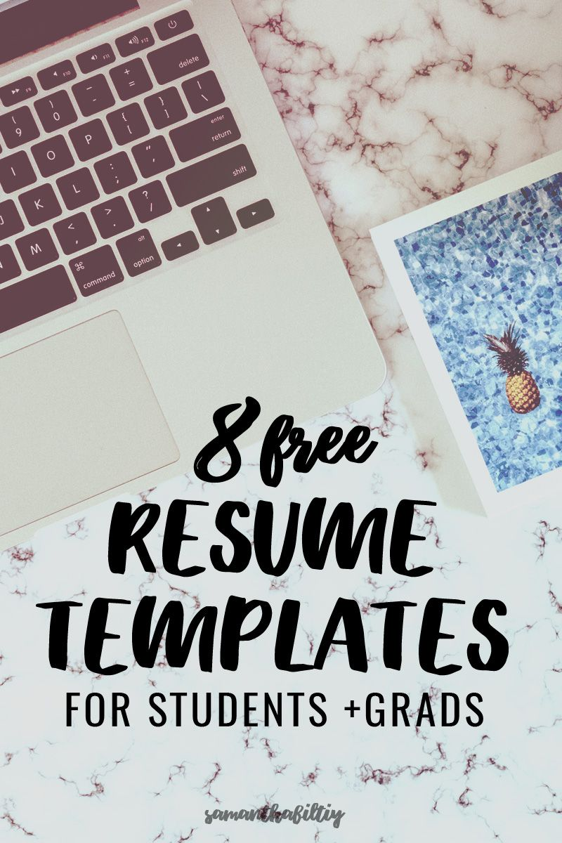 Eye Catching Free Resumes for College Students and Grads Free