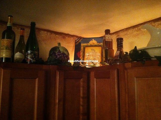 Beautifullovelythings Above Kitchen Cabinet Decor I Am