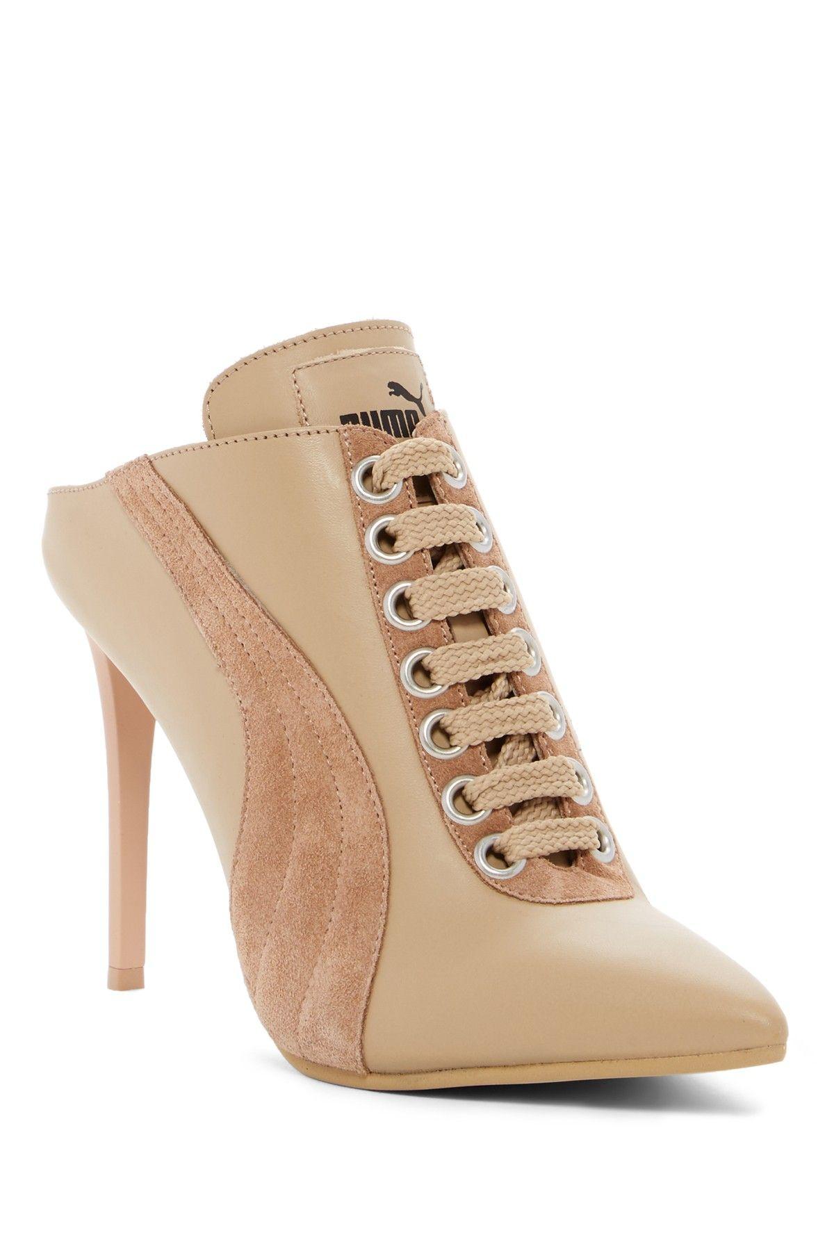 cf895464bf7f Fenty PUMA by Rihanna Lace Up Mule Heel (Women)