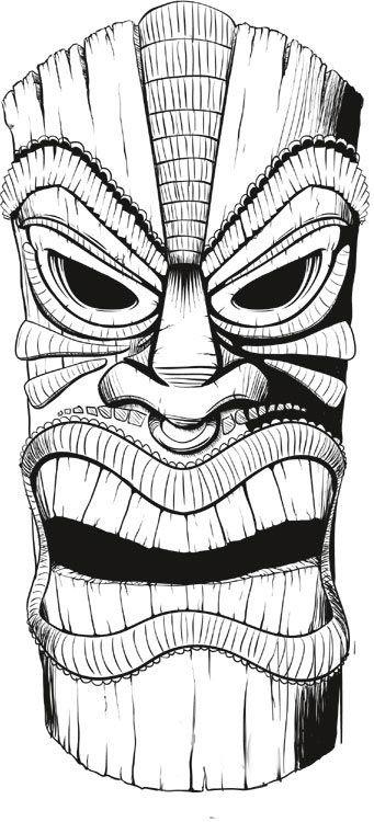 Tiki Things Draw Draw Draw It Upppp Pinterest Tattoo Totems