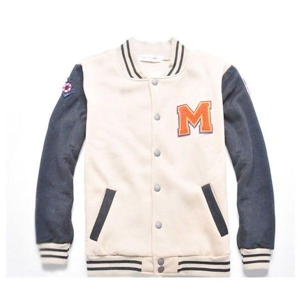 Letter M Wool Varsity Baseball Jackets On Sale | My wishlist ...
