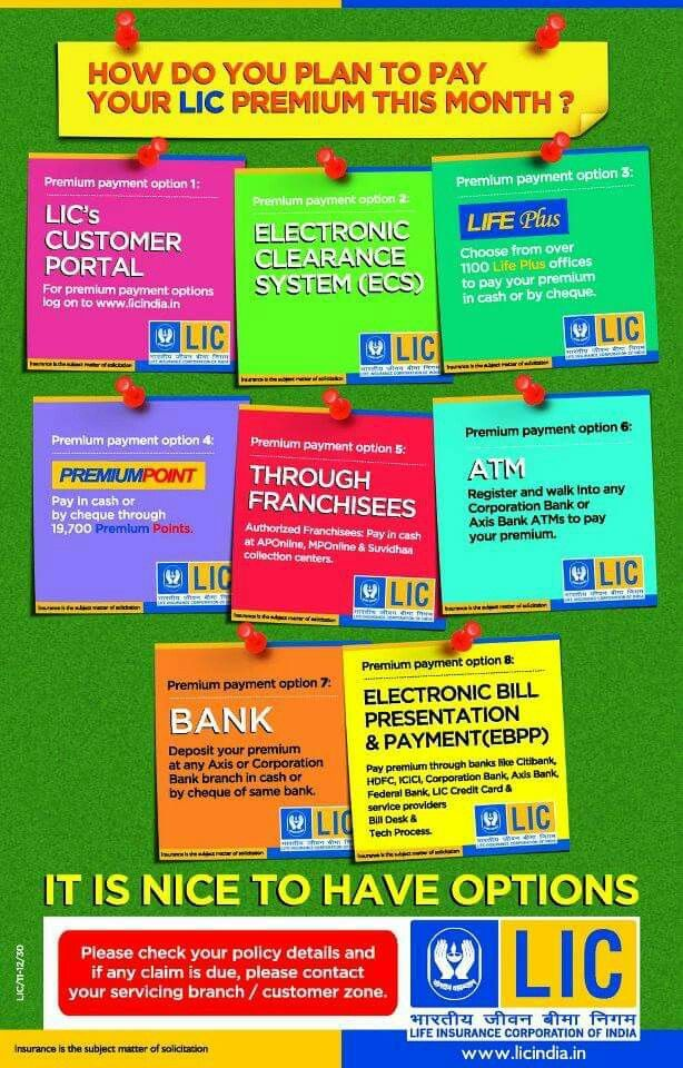 Lic Of India Life Insurance Policy Insurance Marketing