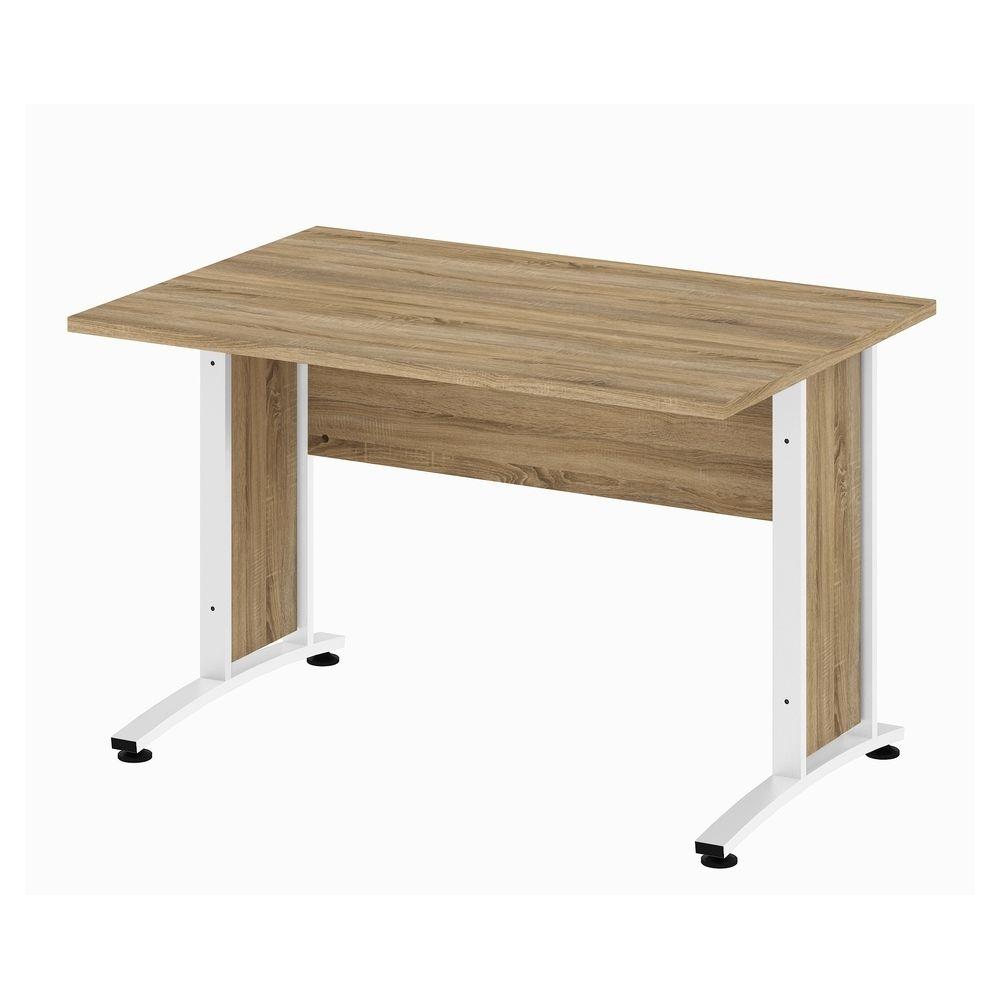 Bürosystem Prima Schreibtisch 150x80 cm Eiche Struktur Weiß Jetzt ...