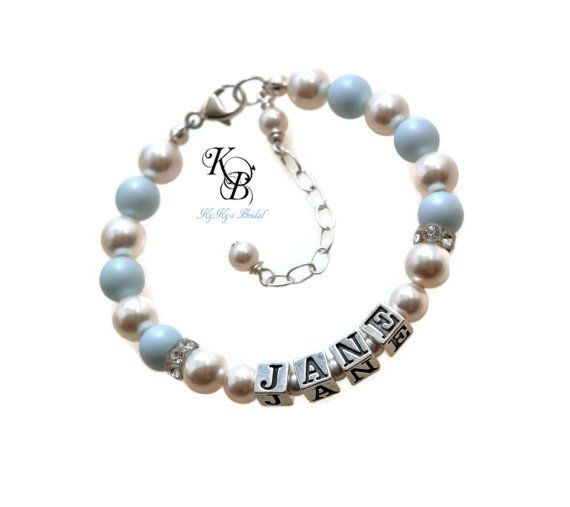 Baby bracelets personalized baby girl gift little girl jewelry baby bracelets personalized baby girl gift little girl jewelry personalized baby bracelet negle Choice Image
