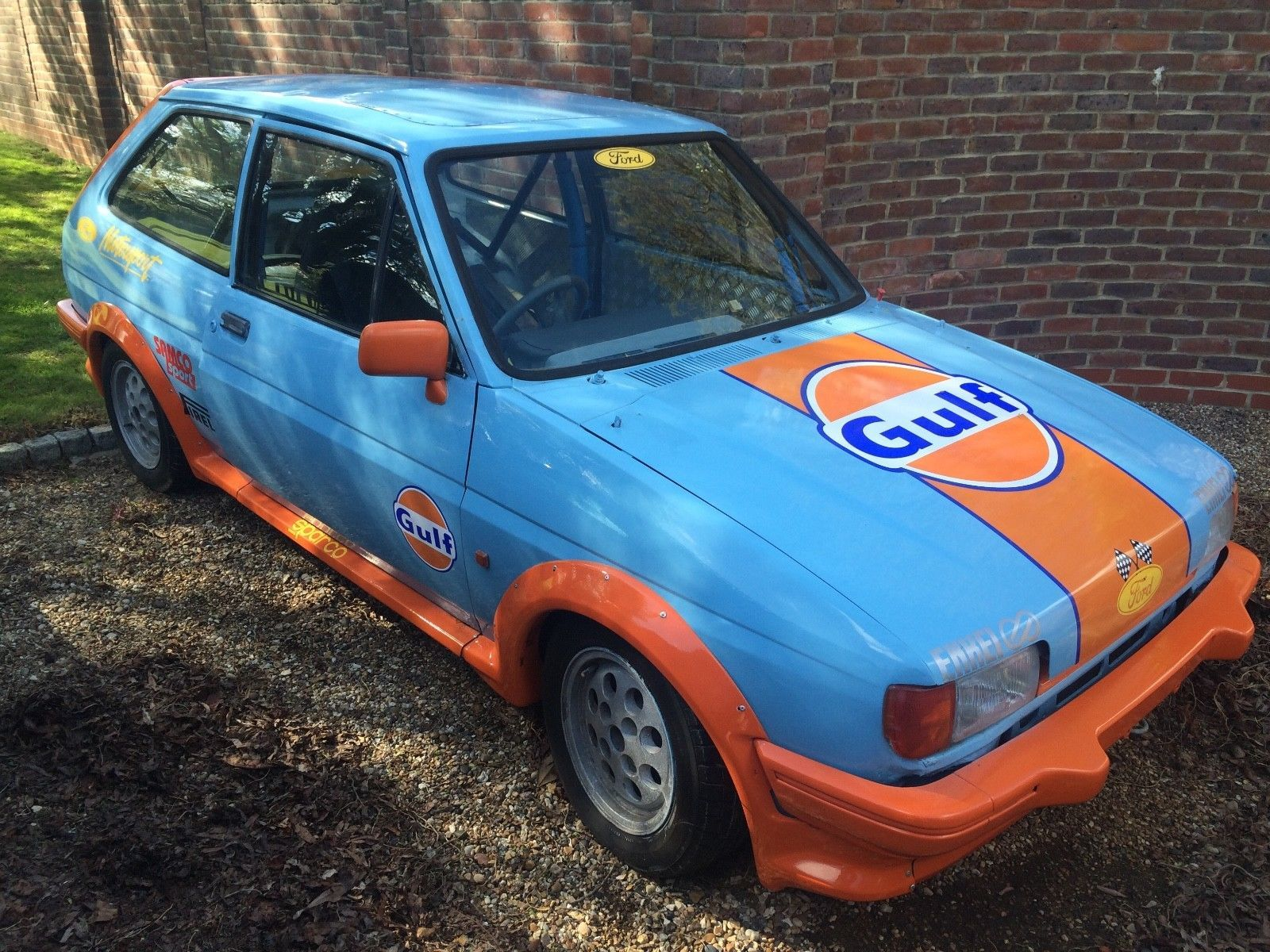 Check Out This Fast Ford 1985 Ford Fiesta Xr2 Track Day Race