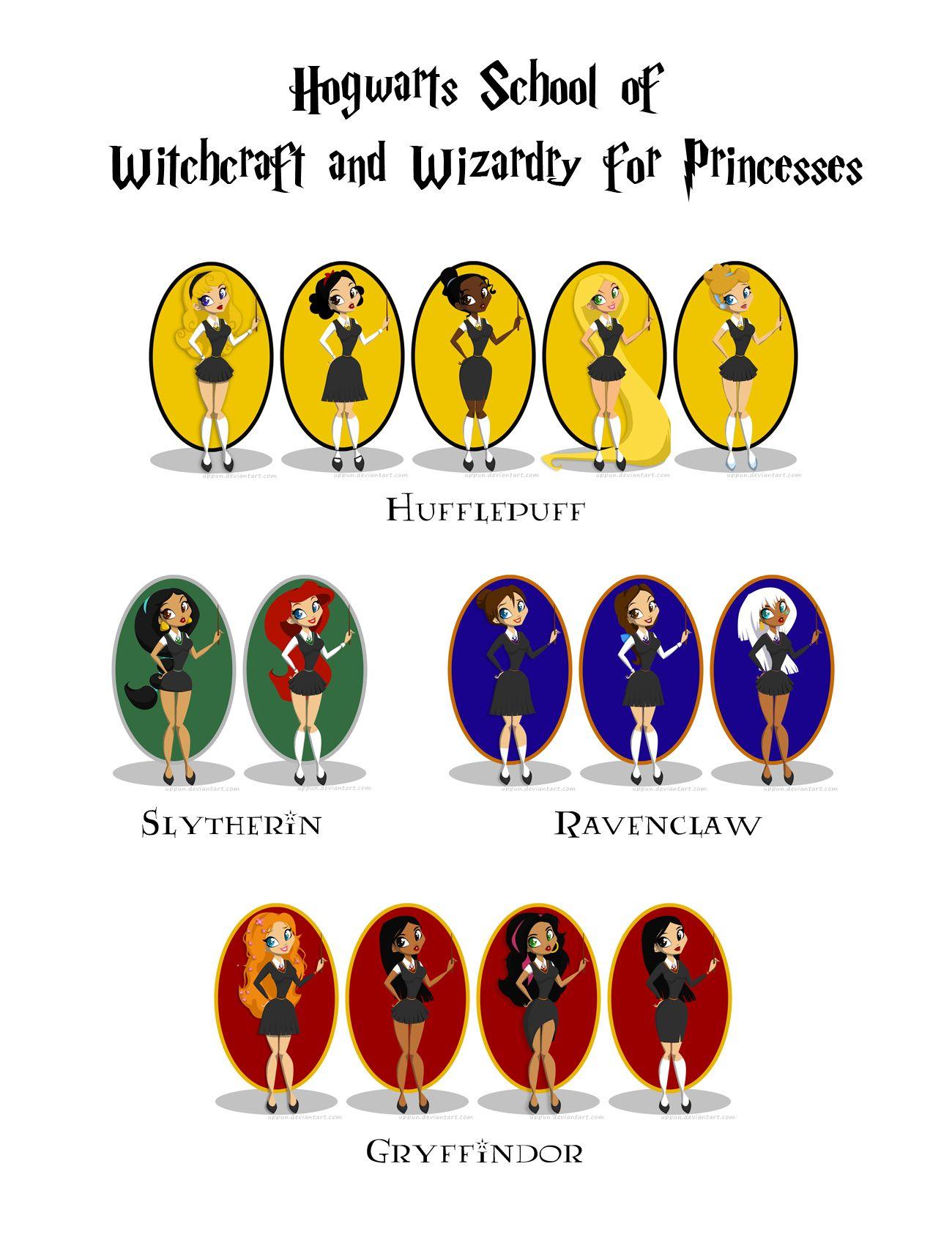 Disney By Uppun On Deviantart Harry Potter Disney Disney Hogwarts Harry Potter Crossover