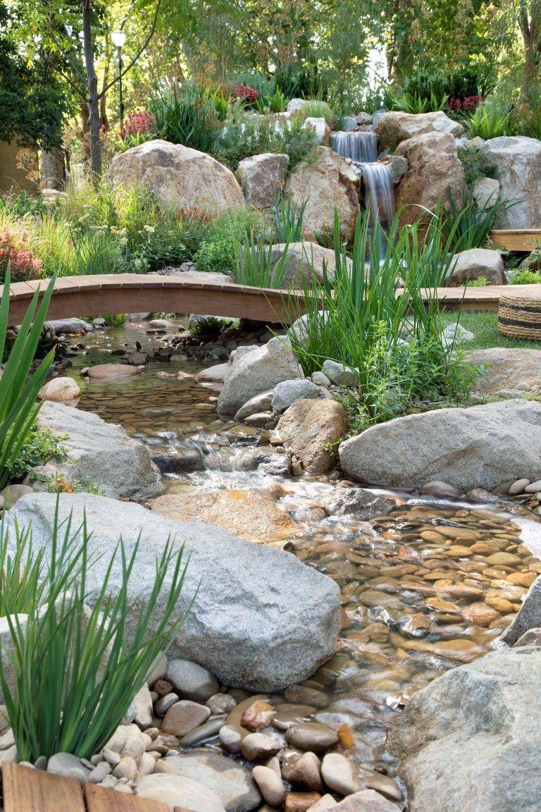 Inspiring Backyard Ponds Water Garden Landscaping Ideas 1 ...