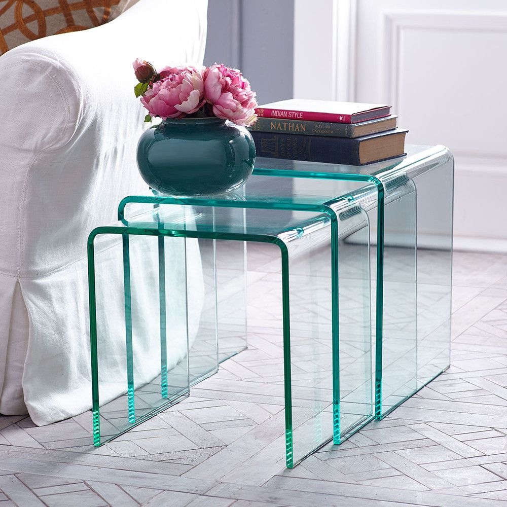 Nesting Glass Tables 27997 Save 15 32900 Item Number