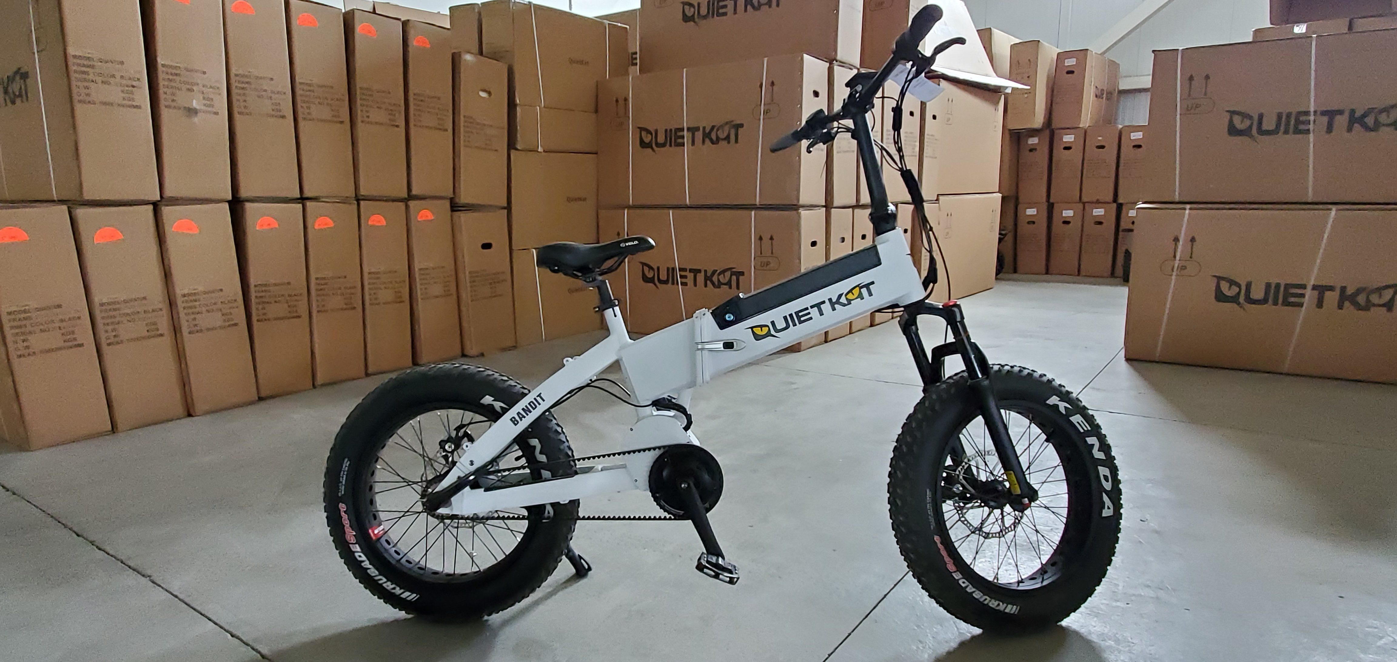 Quietkat 2018 Bandit Folding Electric Bike Demo 944 Folding Electric Bike Electric Bike Bike