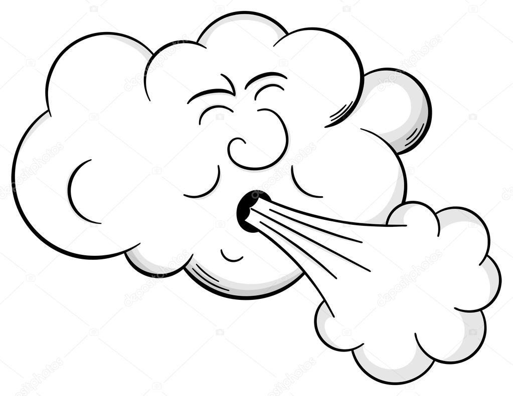 Resultado De Imagem Para Modelo De Nuvem Soprando Vento Com