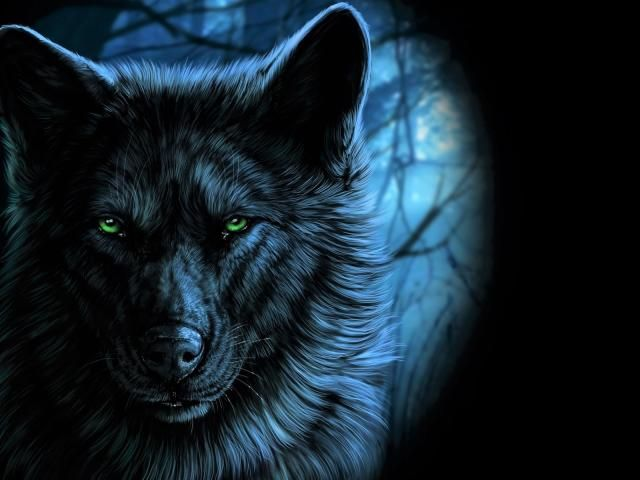 Wolf Green Eyes Artistic Wallpaper Hd Artist 4k Wallpapers Images Photos And Background Fantasy Wolf Animal Wallpaper Artistic Wallpaper