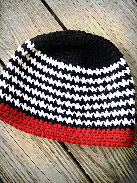 212c3b248df0c Ravelry: Houndstooth Hat pattern by Jamie Carder-Haas 2.99 for pattern