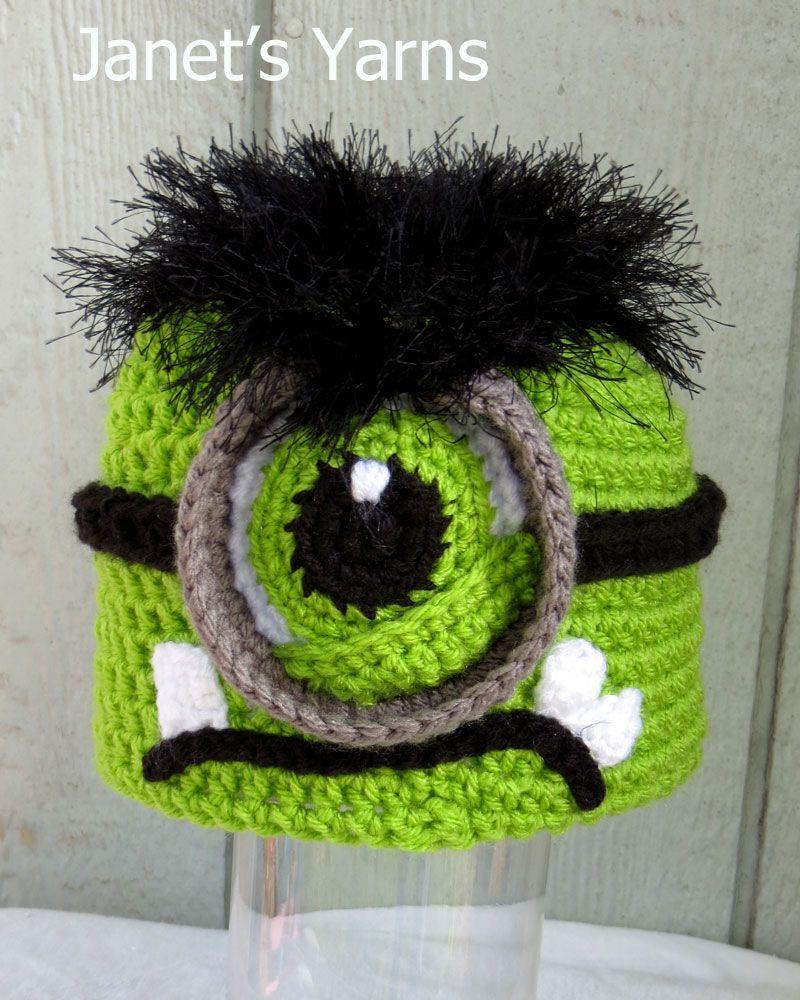 Incredible Hulk minion hat. | Hats Crochet | Pinterest | Hauben ...