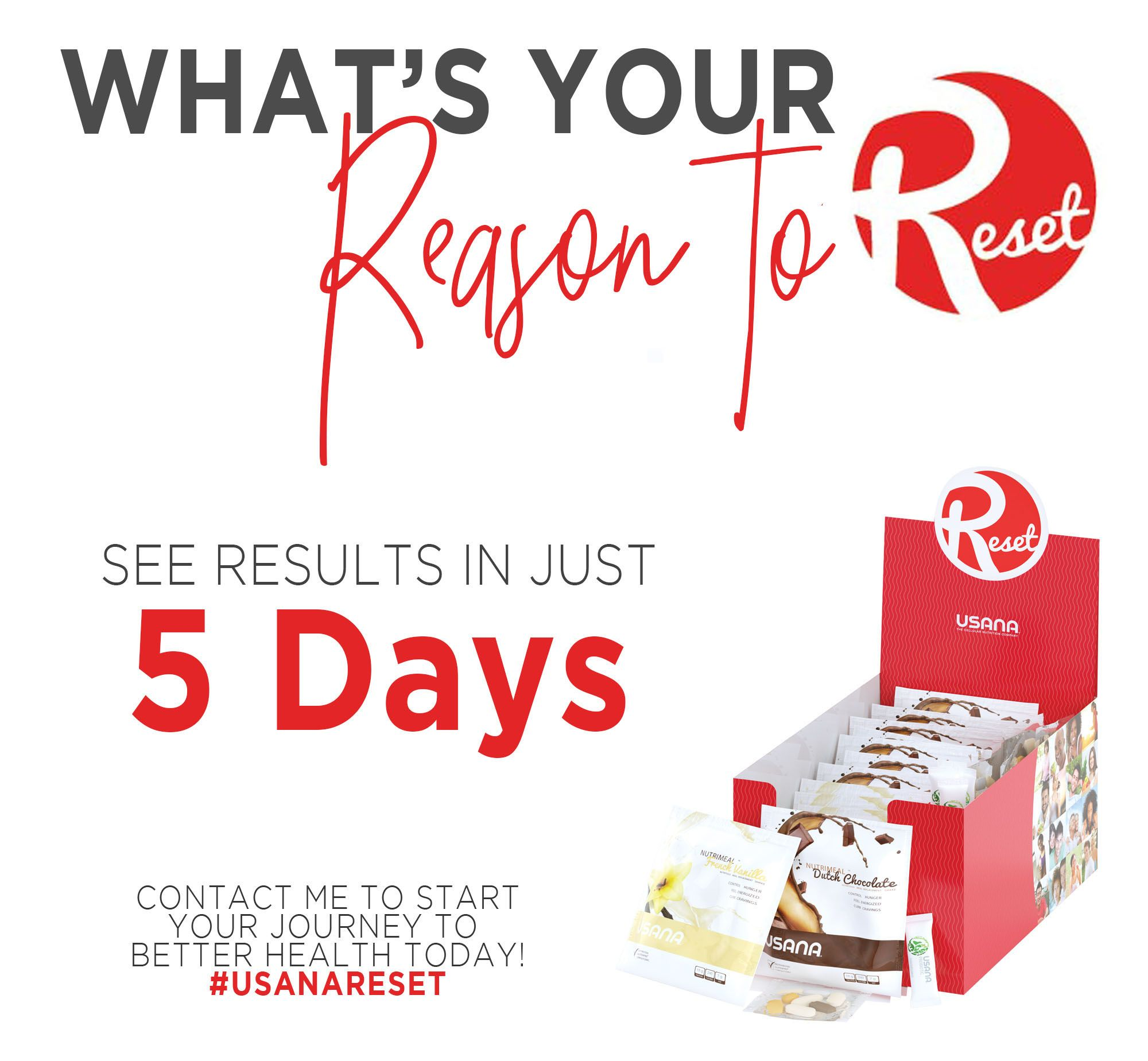What Is Your Reason To Reset See Results In Just 5 Days With Usana Reset Kit