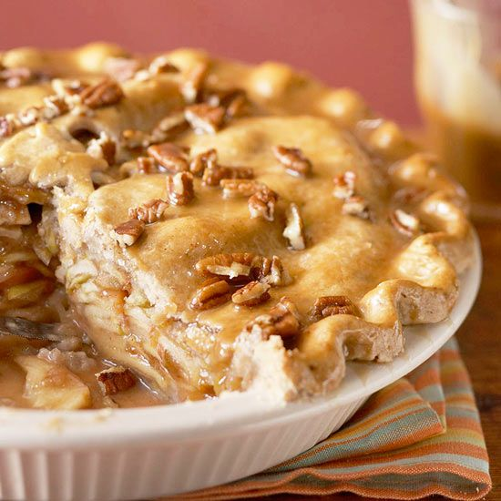 Apple-Pear Praline Pie from the Better Homes and Gardens Must-Have Recipes App
