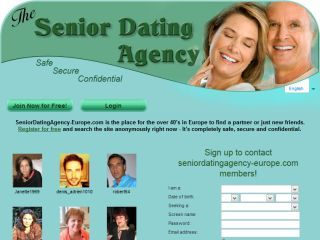 The seniors dating agency