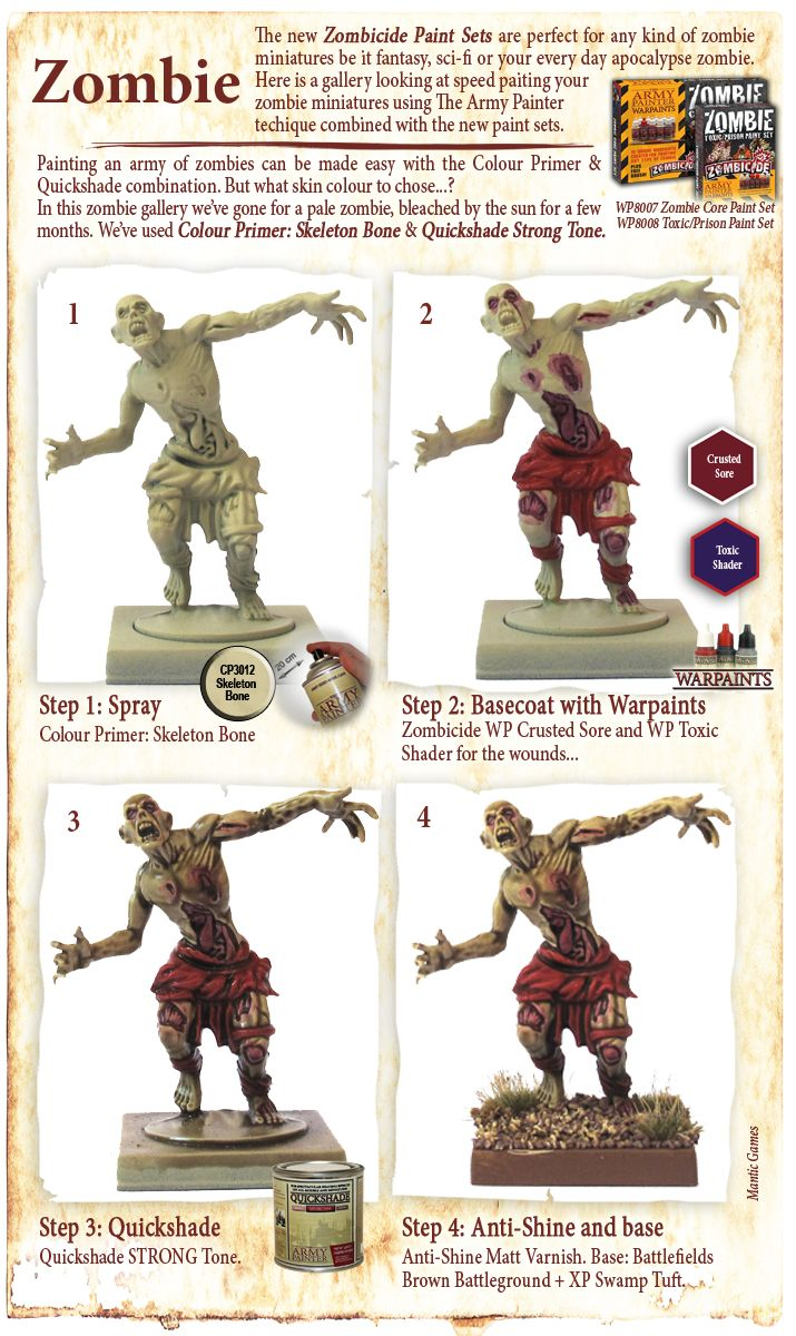 Painting miniatures color master primer - Paintings