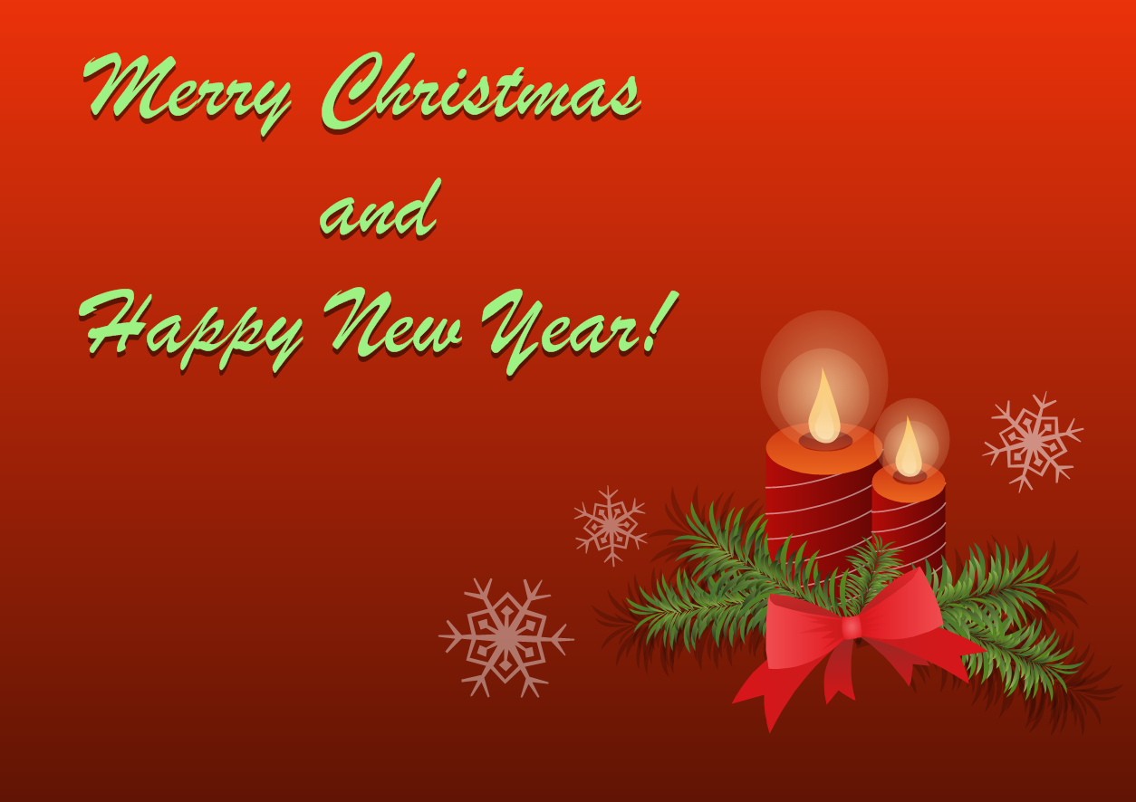 Merry Christmas And Happy New Year Happy New Year Email Template