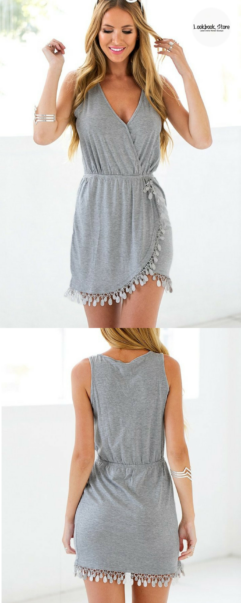 b7f433520 Un vestido para una tarde de verano | comunion | Vestidos playeros ...