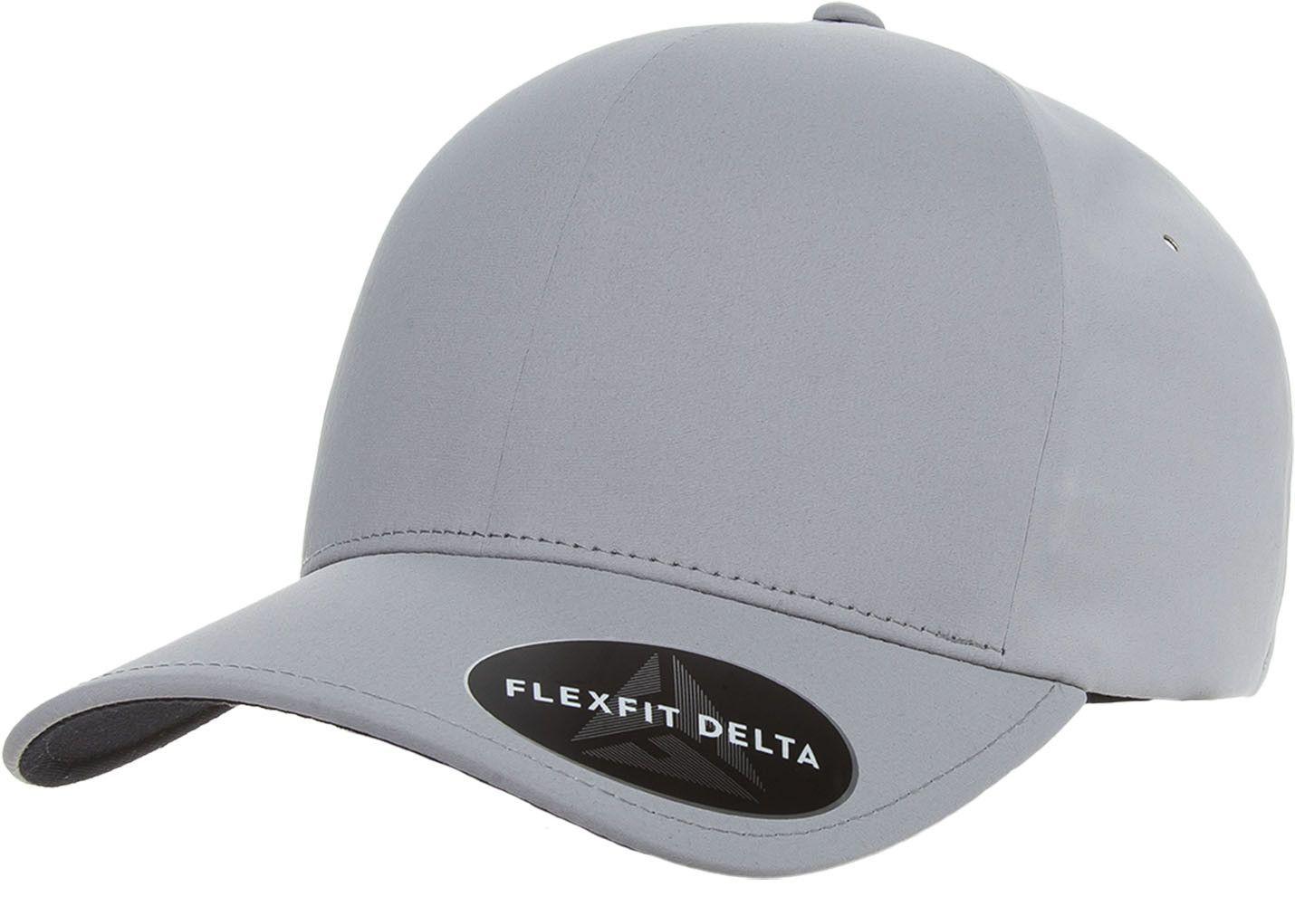 a6a17633616d6 Flexfit Yupoong 180 Flexfit Delta Hat Wholesale  Silver