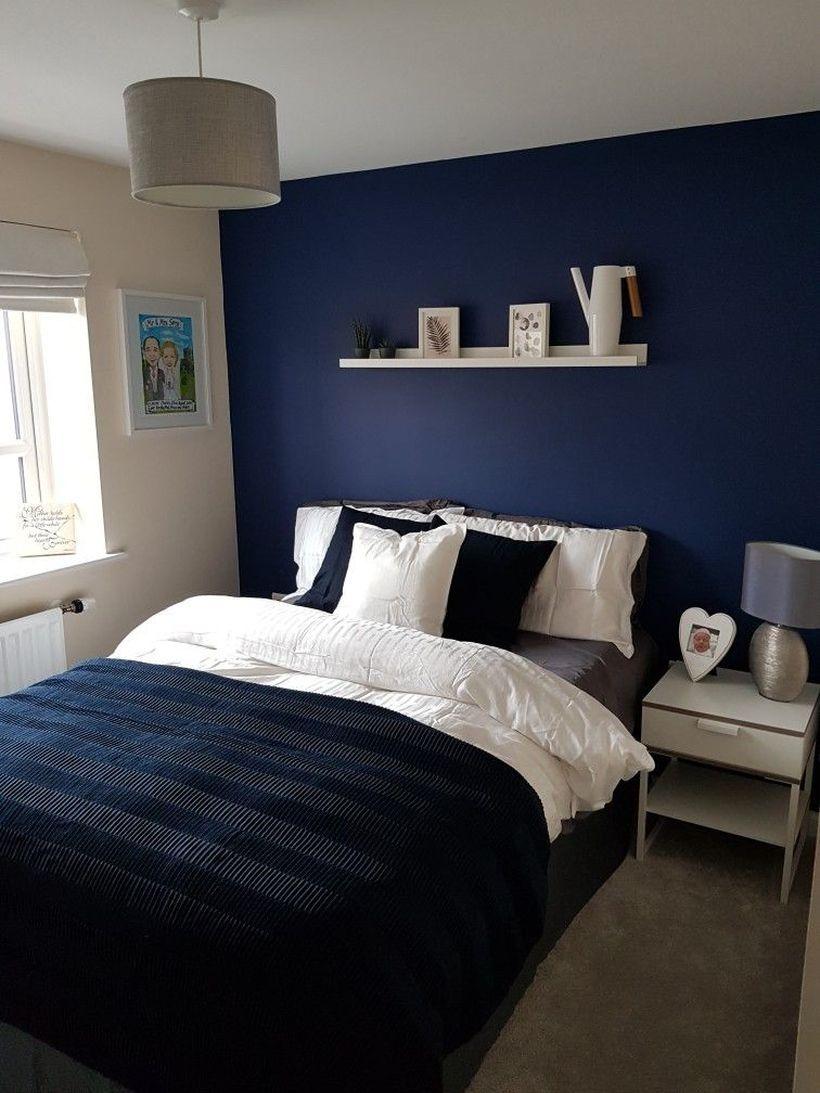 46 Classy Navy And White Bedroom Design Ideas Bedroom