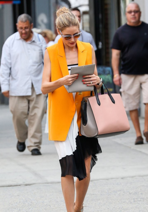 colorblock chic