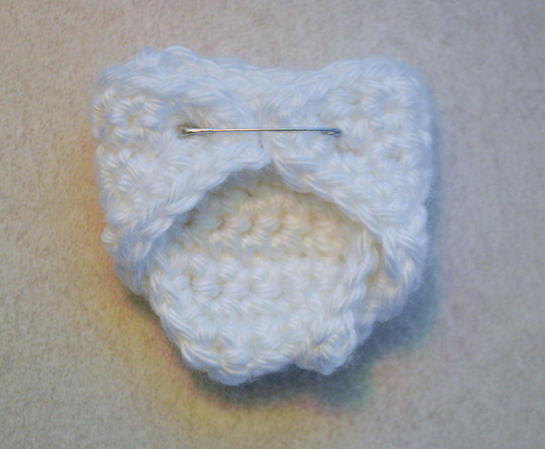Large Size Angel Diaper Pattern Made with Caron simply soft yarn - F ...