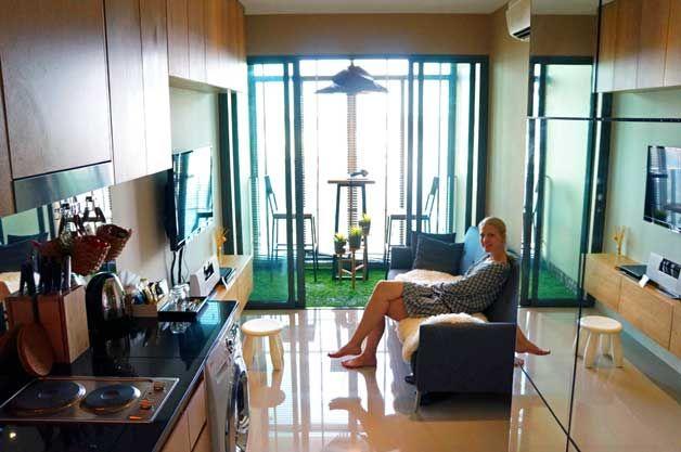 Mini apartment in Bangkok, testing small spaces | Mini ...