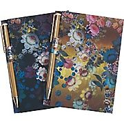 Cynthia Rowley Memo Pad With Gold Pen Assorted Floral 2 Pack