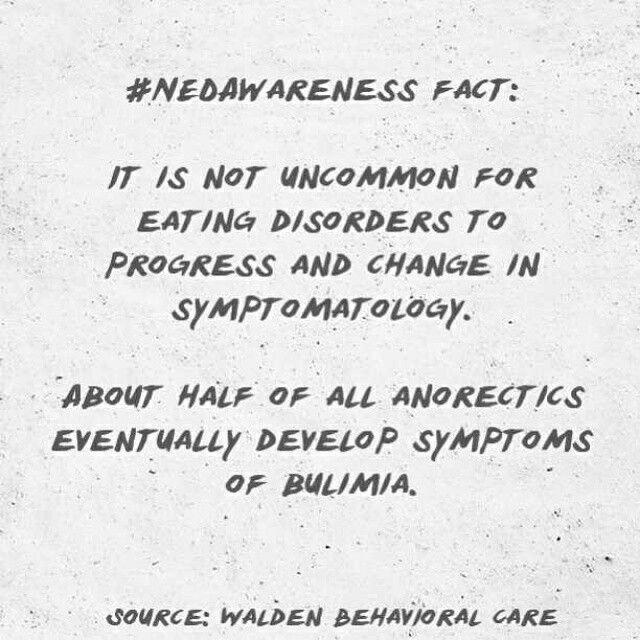 #NEDAwareness Month fact via Walden Behavioral Care