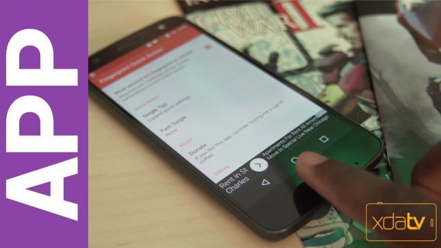 Fingerprint Quick Action Brings the Pixel's Fingerprint Gestures to Any Phone