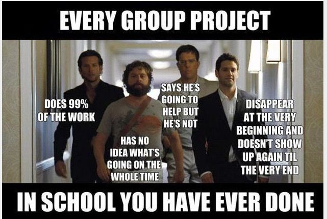 Group Projects Funny School Memes Teacher Humor School Humor