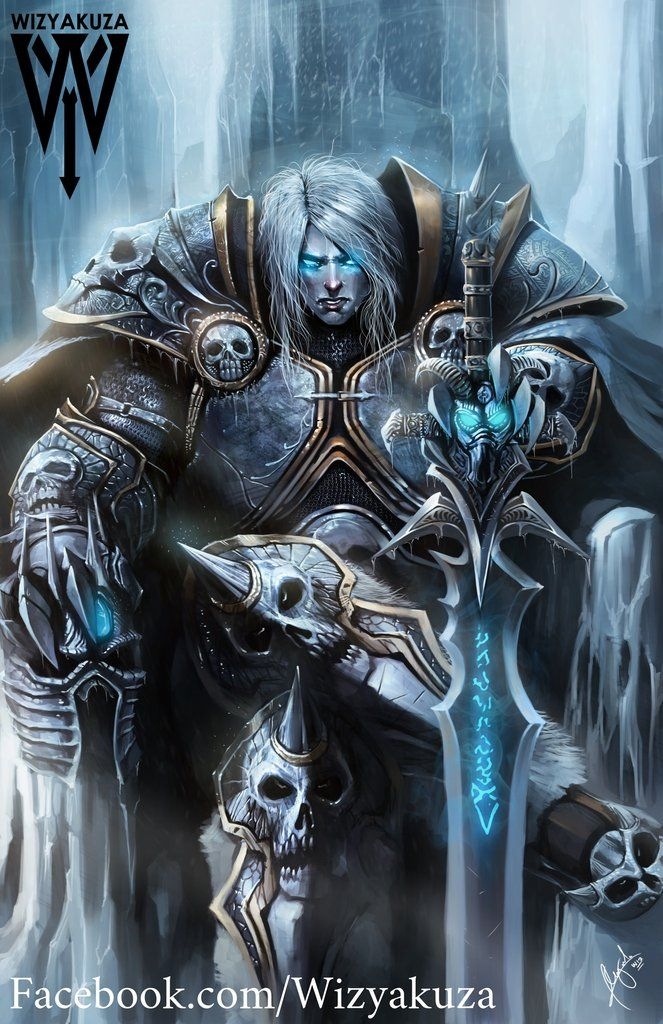 Lich King Warcraft Art Lich King Arthas Menethil