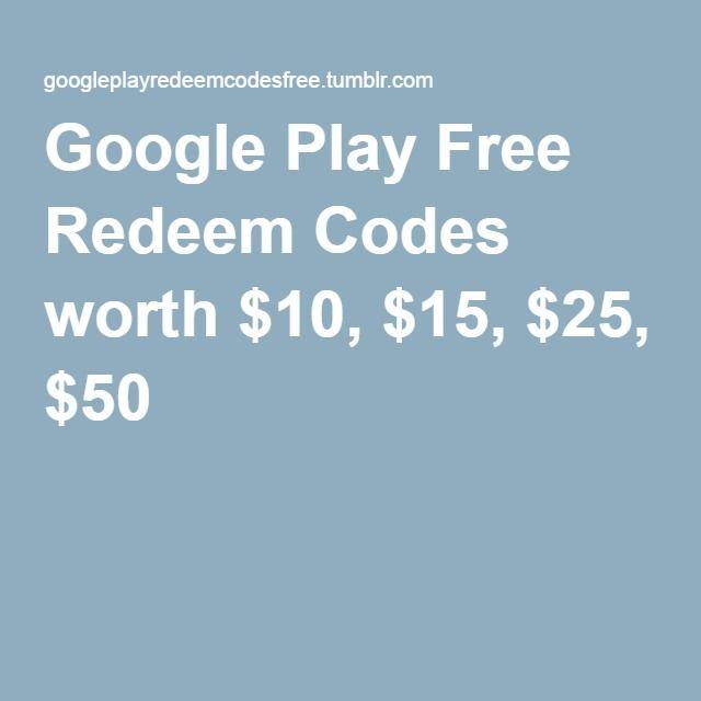Google play free redeem codes 2017 | Top sites to get